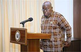 Go to court – Akufo-Addo tells persons against burning of excavators in galamsey fight