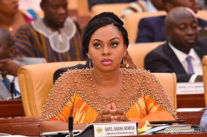 Adwoa Safo reverses decision to sack School Feeding Programme boss