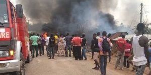 A/R: One-year-old, two others feared dead in fuel tanker explosion