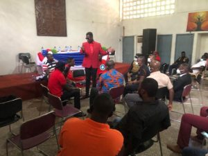 A/R: Armed Police storm Pro-Bawumiah's group press conference; pick up organizers
