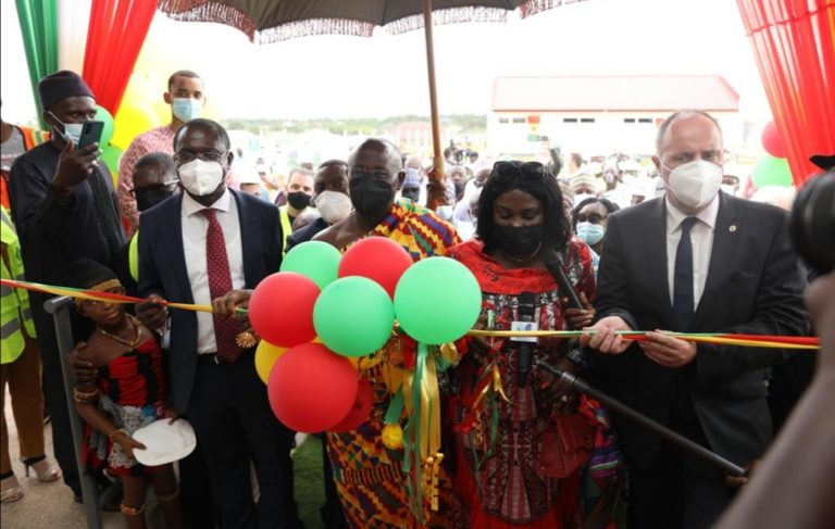 Sanitation Minister Commissions €20M K'si Wastewater Treatment Plant