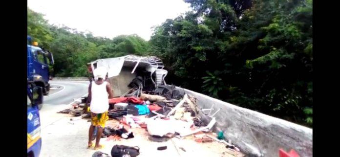 Six die in accident at Kwahu-Atibie