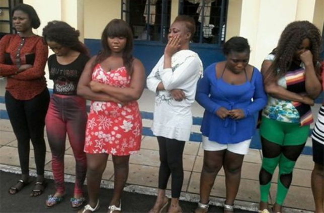 Police arrest 33 sex workers at Pokuase