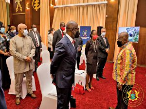 Read more about the article Akufo-Addo to global CEOs: Ghana is a prime, ripe destination for doing business