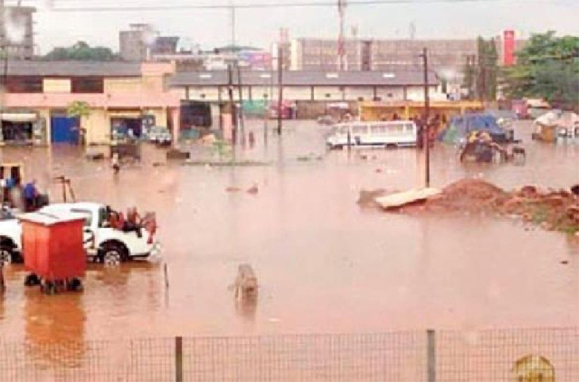 A/R: Traders march over Asafo market floods