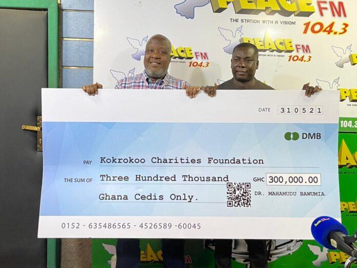 Bawumia donates five incubators to Kokrokoo Charity Foundation