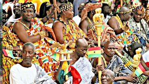 Chiefs who were elevated to paramountcy under Otumfour Opoku Ware II