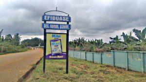 Short history of Effiduase