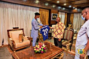 Get Hudson-Odoi to play for Black Stars – Akufo-Addo to Sports minister