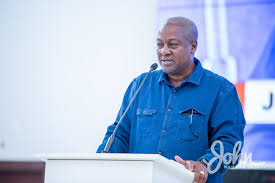 God didn't give me the power – Mahama to Ghanaians