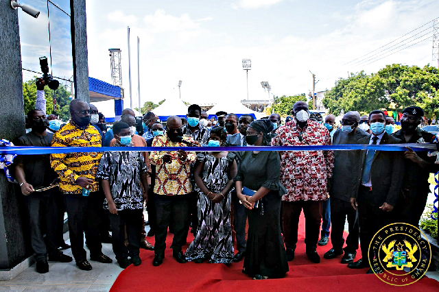 Akufo-Addo opens new office complex for Ministry of Nat'l Security