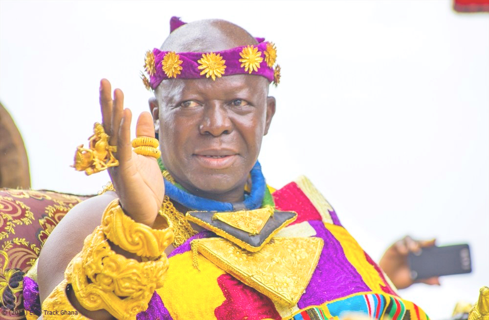 Info about His Royal Majesty Asantehene , his achievements for Asanteman and Ghana