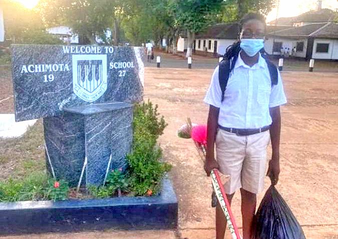 Rasta case: Oheneba Nkrabea reports for school
