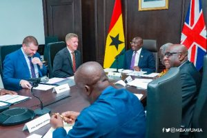 Bawumia leads team for virtual Ghana-UK Business Council meeting