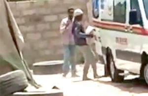 Ambulance Used For Carting Cement Not in Our Custody -NAS