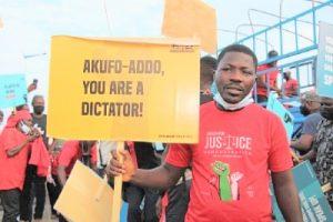 U're a dictator. …NDC Youth to Akufu Addo