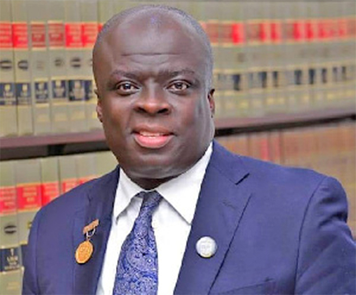 $5m bribery allegation against Chief Justice: Lawyer Kwasi Afrifa meets CID today