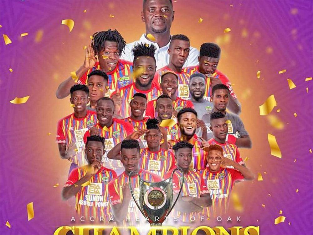 Accra Hearts of Oak are Ghana Premier League Champions