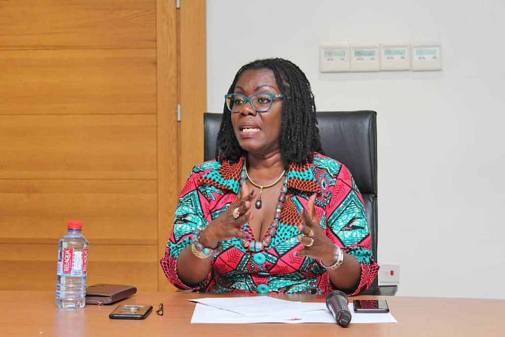 Ursula takes on 'anti-govt' media houses over emoluments to presidential spouses