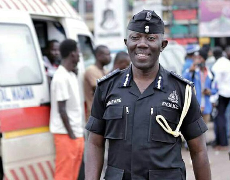 COP Dampare is new IGP effective 1 August