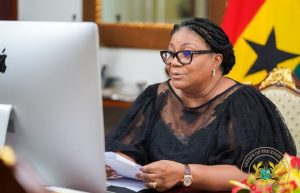 First Lady pays back allowances with CBG cheque