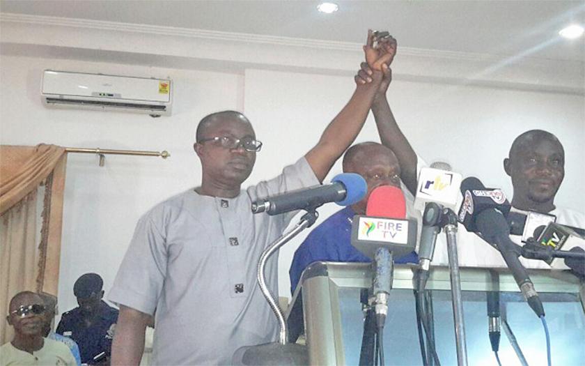 KMA MCE Race: Osei Assibey-Antwi withdraws