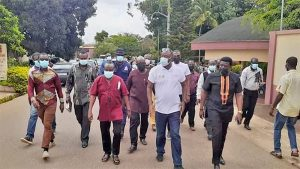 Tourism minister tours Kumasi Cultural Centre