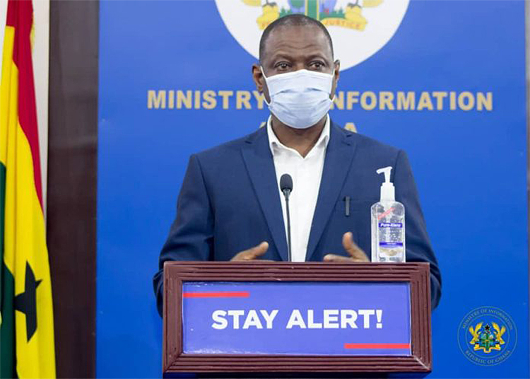 COVID-19: Ghana records 2,500 cases in two weeks