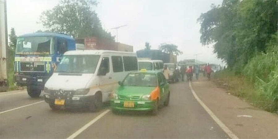 A/R: Two school kids knocked down by overtaking vehicle; one killed instantly