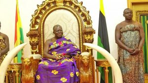 Asantehene enumerated, calls on Ghanaians to patronize Census
