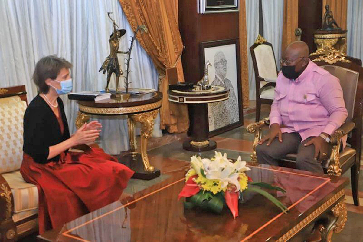 You are currently viewing Ghana, Switzerland deepen ties