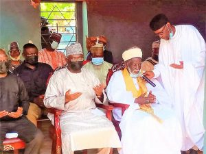 A/R: Vice-President, National Chief Imam donate towards Police station project at Ejura