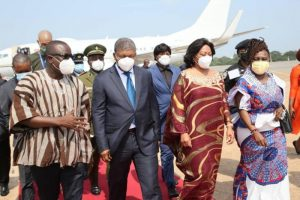 Angolan President in Ghana for three-day visit