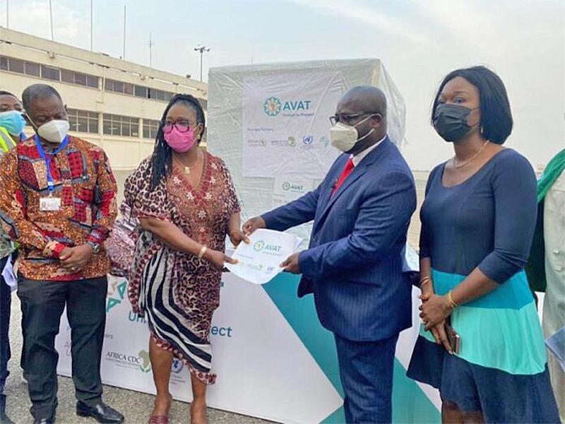 Covid-19: Ghana receives 177, 600 doses of Johnson & Johnson vaccines
