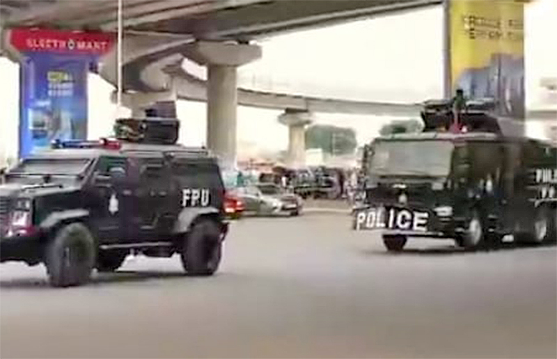 [Live Updates] #FixTheCountry Demo: 'So far, so good' – Police