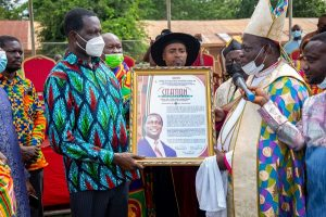 Education Minister, Asantehene, Paramount Chief of Tepa and others honoured