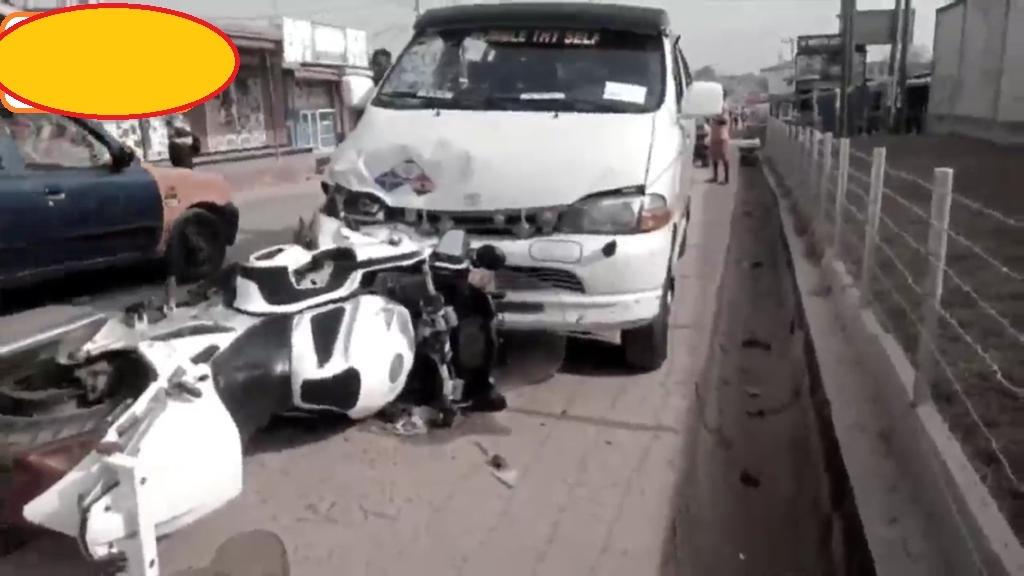 Speaker's dispatch rider dies in a fatal accident