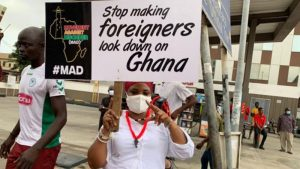Ghanaians react positively to #FixTheCountry protest