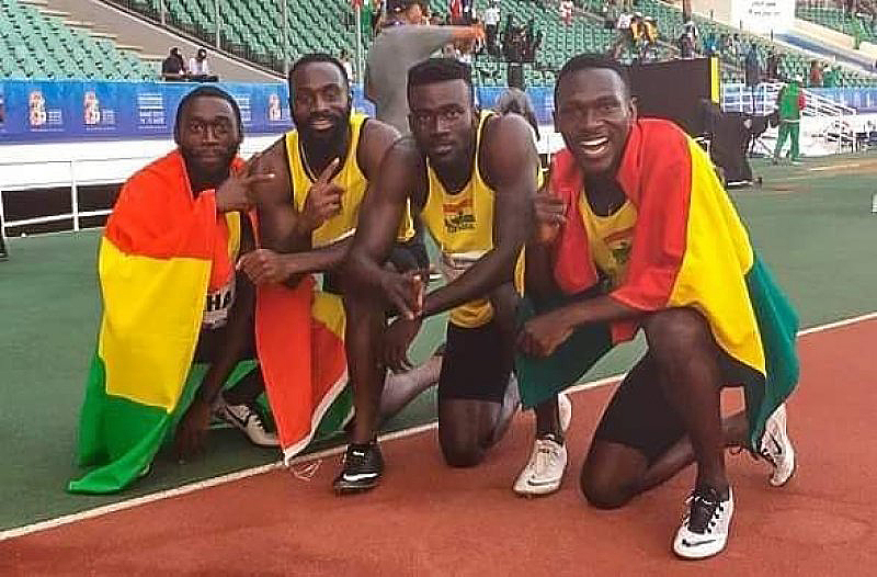 Shattered dreams as Relay Team fails to glitter