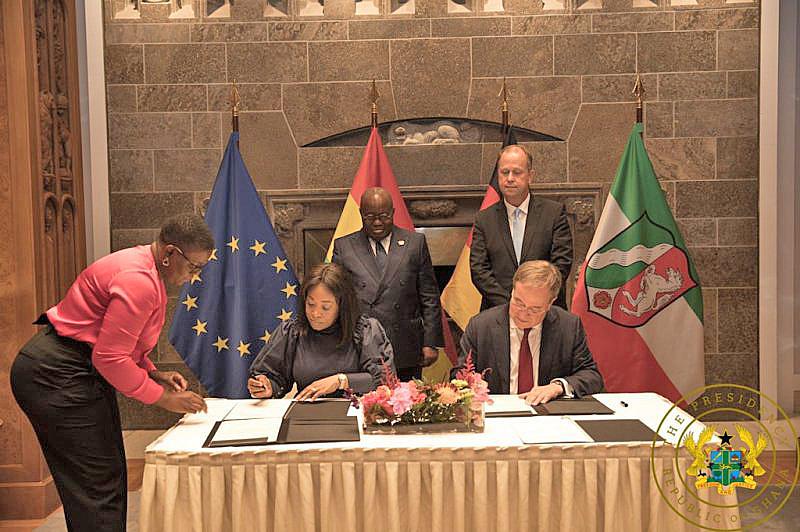 Ghana, North Rhine-Westphalia sign co-operation agreement