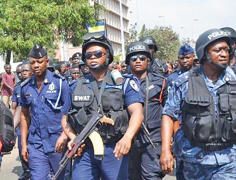 Police storm Gomoa Adzintem for four Fulanis who gang-raped 13-yr-old