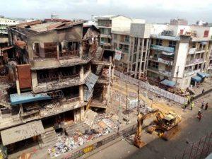 All is set for implosion of Hong-Kong Building at Makola