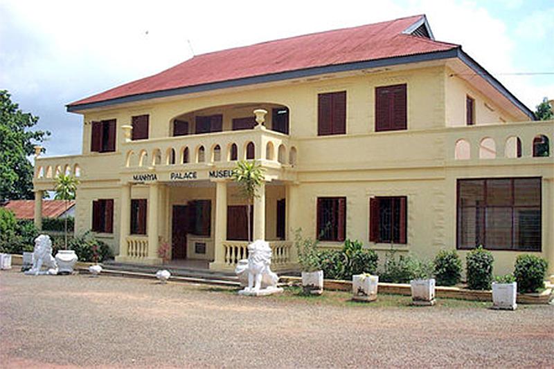 Manhyia palace and museum, Kumasi (Ashanti Region of Ghana)