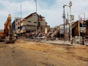 Read more about the article Traders express worry over prolonged demolition exercise at Makola