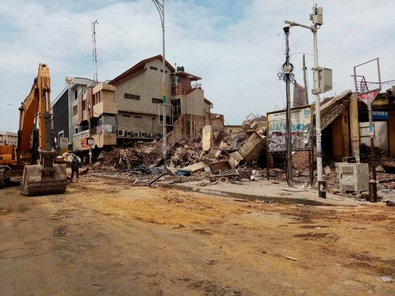 Traders express worry over prolonged demolition exercise at Makola
