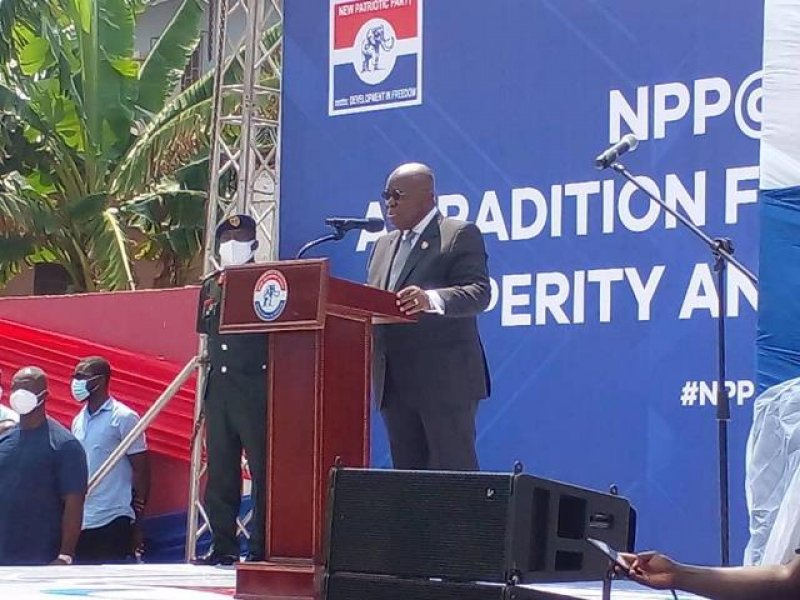 We won't accept backsliding attitude that takes us backwards – President to NPP supporters