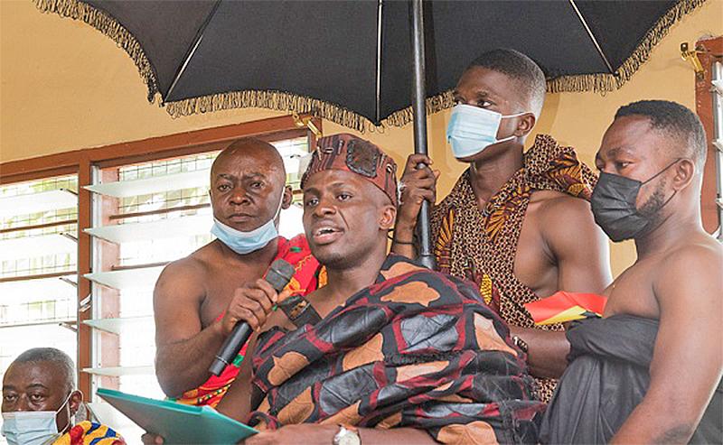 """""""Your achievements in Nkoranza unprecedented"""" – Nkoranza Chief to President Akufo-Addo"""