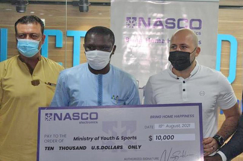 NASCO supports Black Stars with $60,000