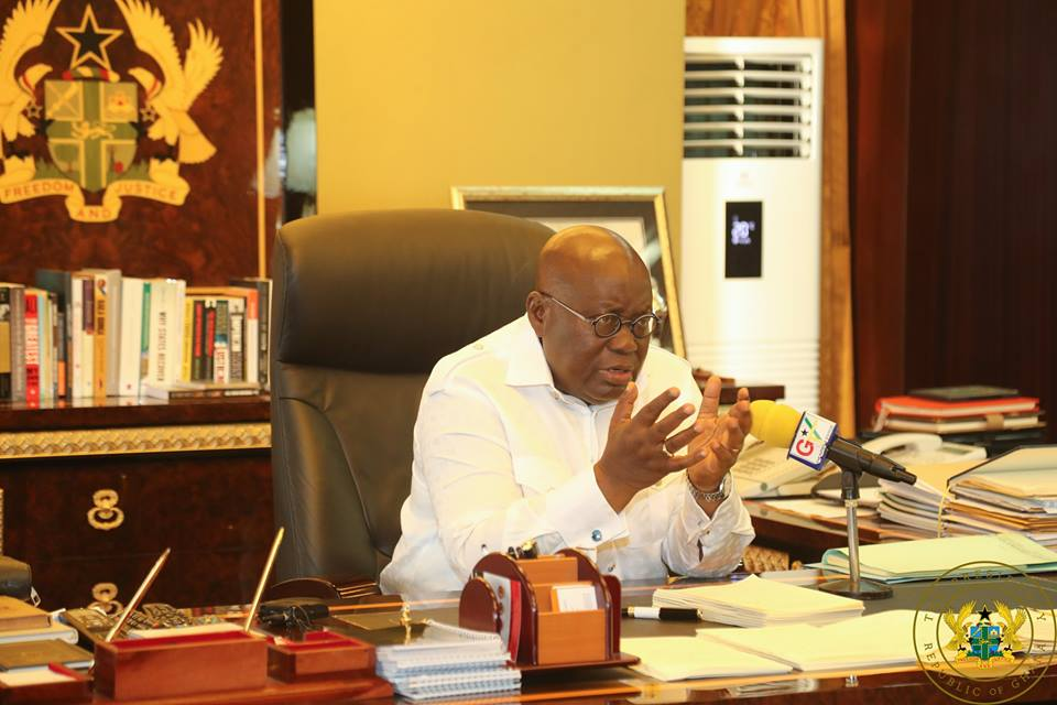 Akufo-Addo fires the West
