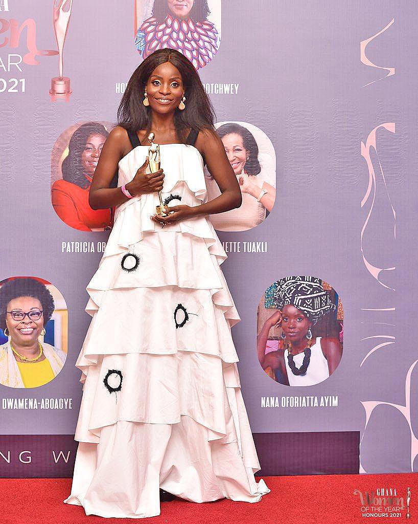 Nana Oforiatta Ayim receives 'Woman of the Year in Cultural Arts' award